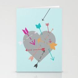 Arrow Heart Card Preview