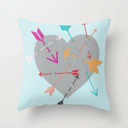Arrow Heart Pillow Preview